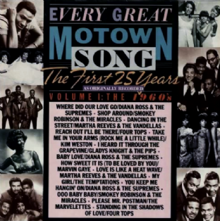 V/A - Every Great Motown Song: The First 25 Years Vol. 1: The 1960's (LP) (VG+/EX+)